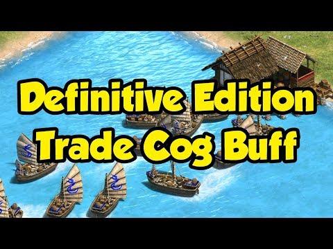 Trade Cog Buff In AoE2 Definitive Edition