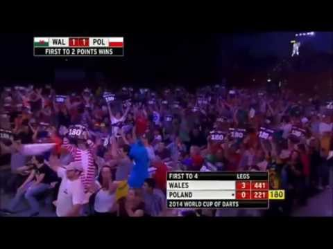Darts -- 180's - World Cup of Darts Special