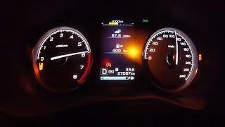 Быстр ли Subaru Forester  2.5? Разгон 0 - 100