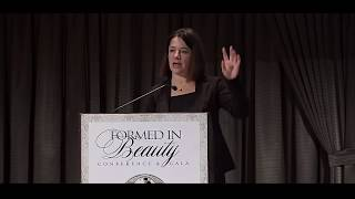 "Juliette Aristides Present "" Beauty as a Portal to Meaning""  Conference 2018"