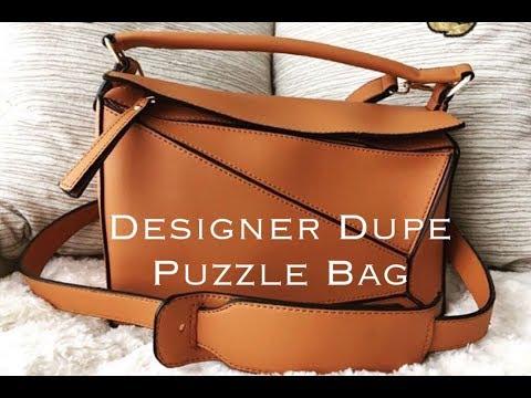 dupe loewe puzzle bag