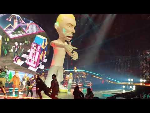 Revenge Feat. Eminem - P!nk - Beautiful Trauma Tour (Auckland) - 10 September 2018
