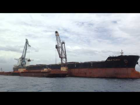 Offshore Bauxite loading at Cabo Rojo 2