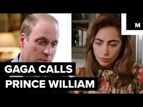 Thumbnail: Lady Gaga FaceTimed Prince William to discuss mental health