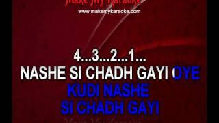 Nashe Si Chadh Gayi - Befikre | Video Karaoke Track
