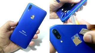 VIVO V11 Pro converted in iphone xs with apple Lamination full review 2018 vivo new phone