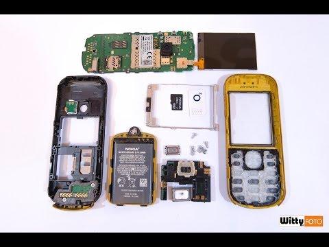 Nokia 3720c (classic) disassembling/assembling