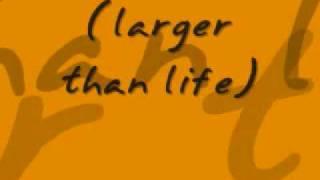 Larger Than Life by Backstreet Boys w/lyrics