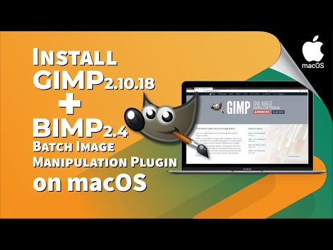 How to correctly Install GIMP 2.10.18 and BIMP 2.4 using MacPorts on macOS devices | macOS Catalina