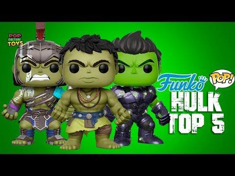Top 5 Las Mejores Figuras de Hulk  FUNKO POP