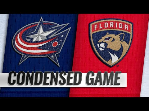 01/05/19 Condensed Game: Blue Jackets @ Panthers
