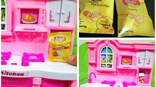 How to make chips packet|Mini lays chips pack for dollhouse|Easy chips packet with paper.