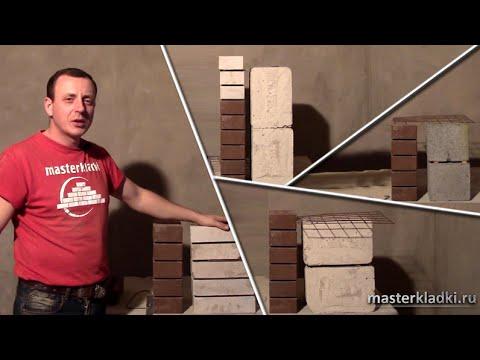 Способы связки стен и поочередность кладки - [masterkladki]