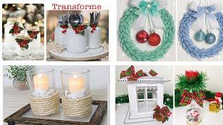 Recicle Ideias Gastando Pouco Para O Natal
