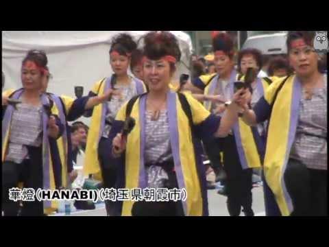 セクシーダイナマイト!NO4 東京よさこい2013 散斬(ざんぎり)トーキョー~華燈(HANABI)~北斗☆踊り子本舗~Kagura