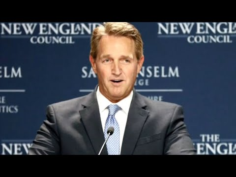 Jeff Flake: GOP should challenge Trump