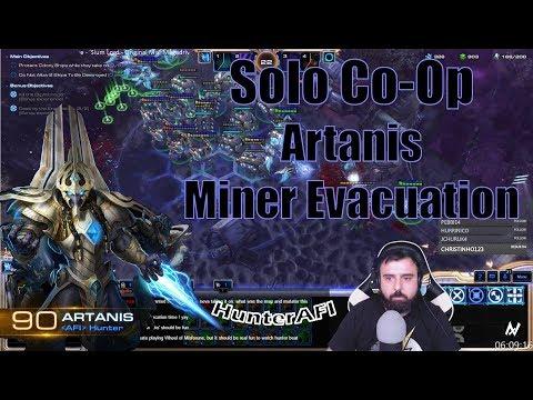 Solo Co-Op Artanis Miner Evacuation [Full Clear] 30:17