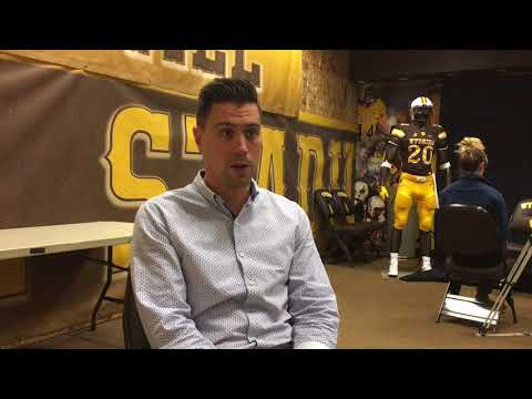 Wyoming director of player personnel Gordie Haug talks recruiting