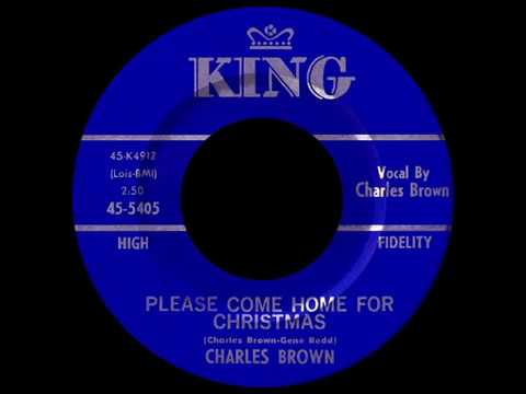 charles brown please come home for christmas 1960