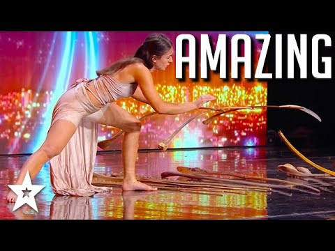 WOW! OUTSTANDING Audition on Got Talent France 2020   Got Talent Global