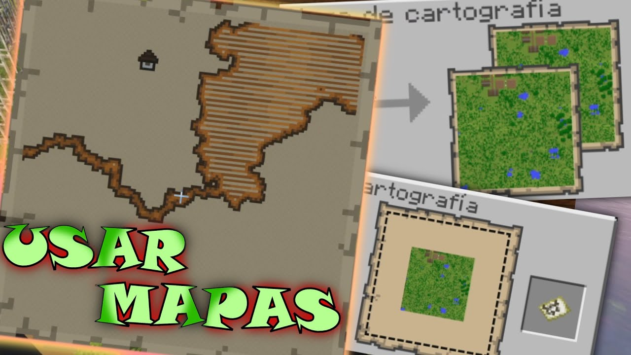 Como Leer Un Mapa En Minecraft 1 16 Agrandar Duplicar Hacer Y Guiarse El Diamante Crea 8 Youtube