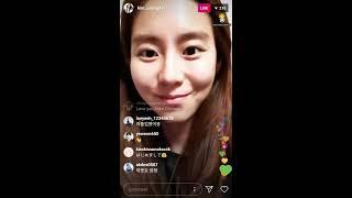 20200209 유이 인스타그램 라이브 Uee instagram live (afterschool 애프터스쿨)