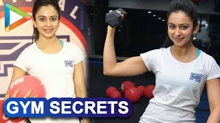 Rakul Preet REVEALS All Her Gym Secrets To Have A Perfectly Toned Body