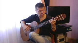 Astor Piazzolla: Libertango (Танго свободы). Classical guitar V. Sharii