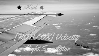[ROBLOX] Velocity Flight Simulator Gameplay