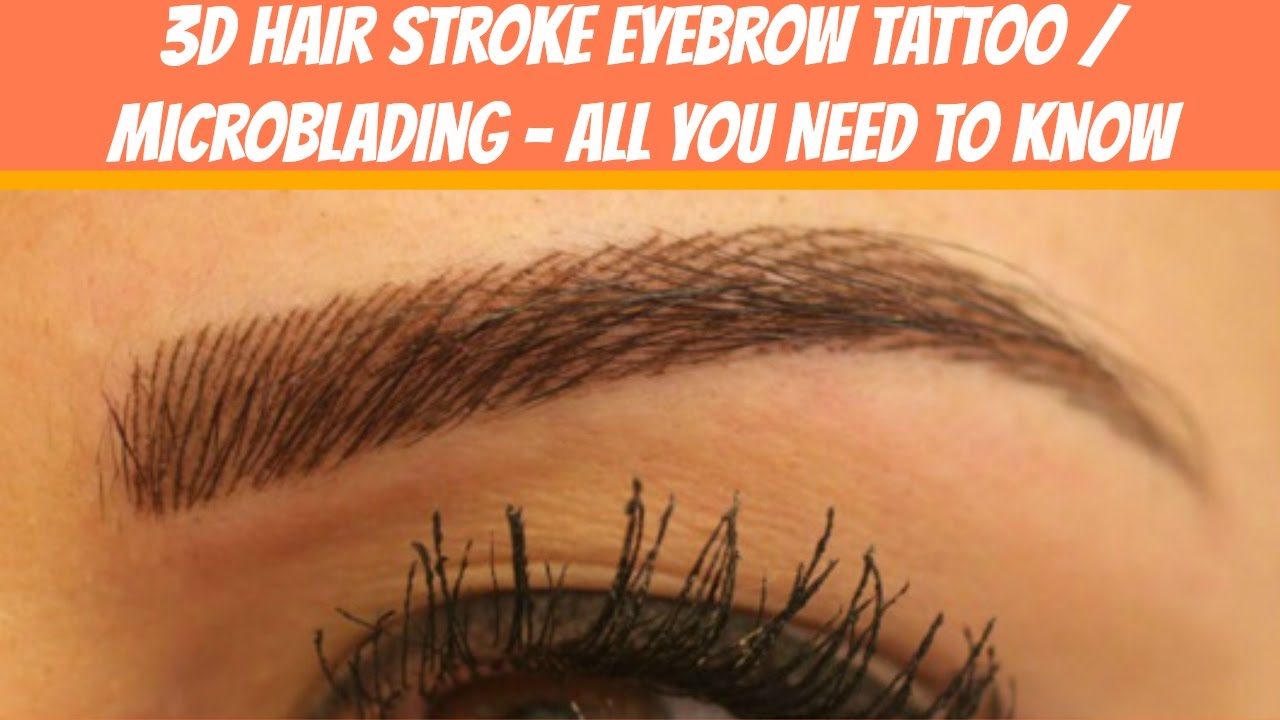 Hair Stroke Eyebrows Vs Microblading   Amathair co