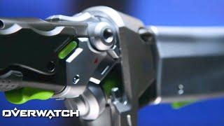 Overwatch - Ultimate Genji Sword Model Prop Trailer