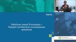 Sähköinen resepti Euroopassa- Rajat ylittävän reseptin toimittaminen suomalaisessa apteekissa