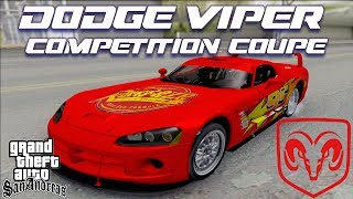 Dodge Viper Competition Coupe  [IVF][CAR][HQ][1080p] - GTA San Andreas Mods