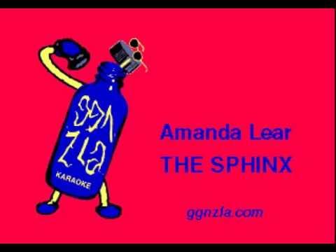 ggnzla KARAOKE 279, Amanda Lear - THE SPHINX