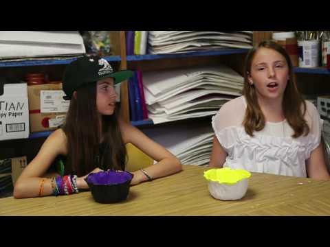 Warner Avenue Elementary School Students Sell Art to Benefit LA Food Bank