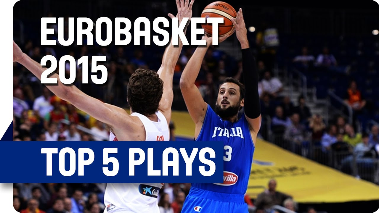 Top 5 Plays - Day 4 - EuroBasket 2015
