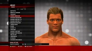 Superstar Heads in Create A Superstar - WWE 2k16 for Xbox 360 ( superstar head )