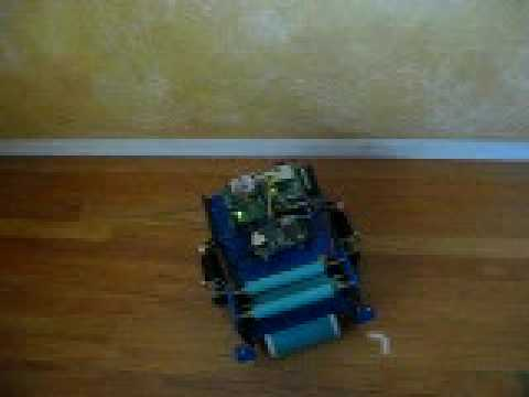 Man Made Machines, LLC: Cleaning Robot with area mapping small area one cycle