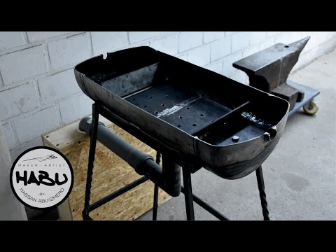 DIY   Building a forge