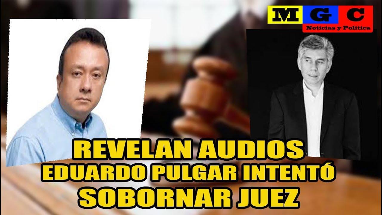 EDUARDO PULGAR INTENTÓ SOBORNAR A UN JUEZ