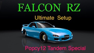 CarX Popcy12 Tandem Special. Falcon RZ Best Ultimate Setup. Parking A and Springstone multiplayer