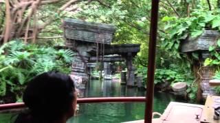 Hong Kong Disneyland Jungle Cruise Boat Ride