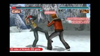 DEAD OR ALIVE DIMENSIONS (3DS) - HITOMI VS EIN