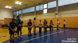 Начало волейбола 4 класс