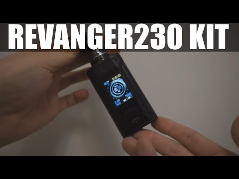 VAPE TEST RAVANGE230 KIT