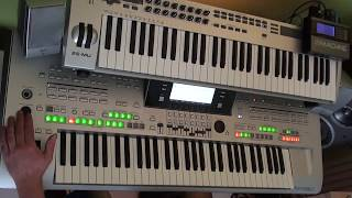 children - robert miles /  remix played on yamaha tyros 3 with vst plugins