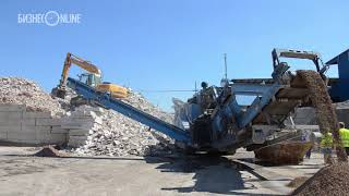 Переработка строительного мусора в Швейцарии