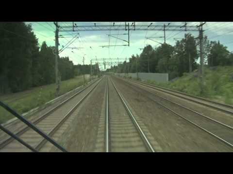 TTR196 VR IC Cabride Kouvola to Helsinki