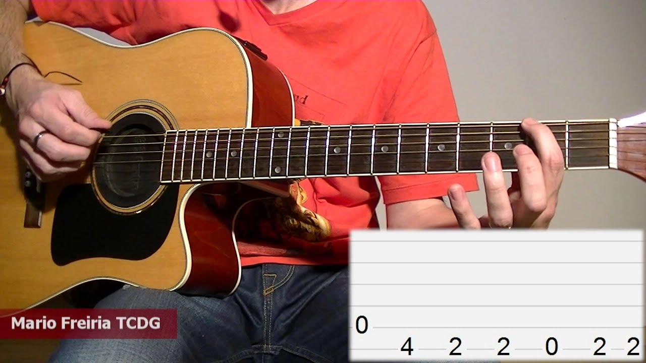 how to play stand by me guitar tabs lesson tcdg youtube. Black Bedroom Furniture Sets. Home Design Ideas