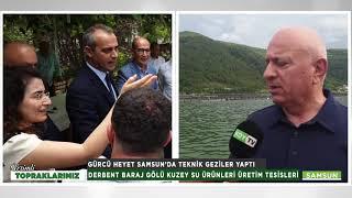 SINIR KOMŞUMUZUN TARIM BAKANI SAMSUN'A GELDİ